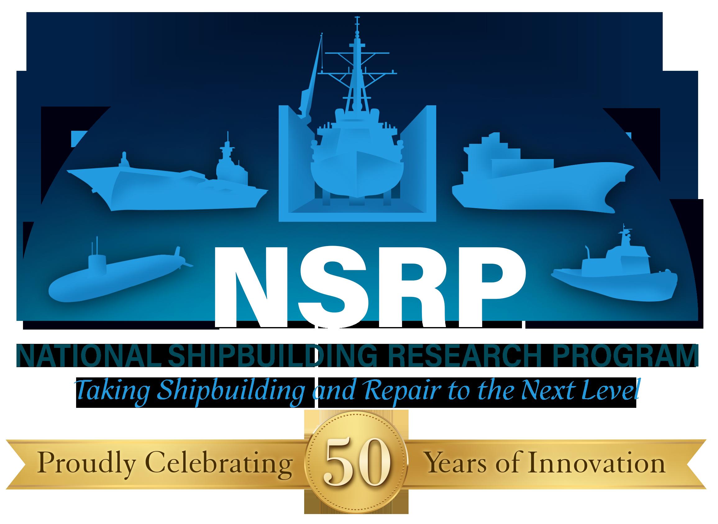 National Shipbuilding Research Program (NSRP) logo