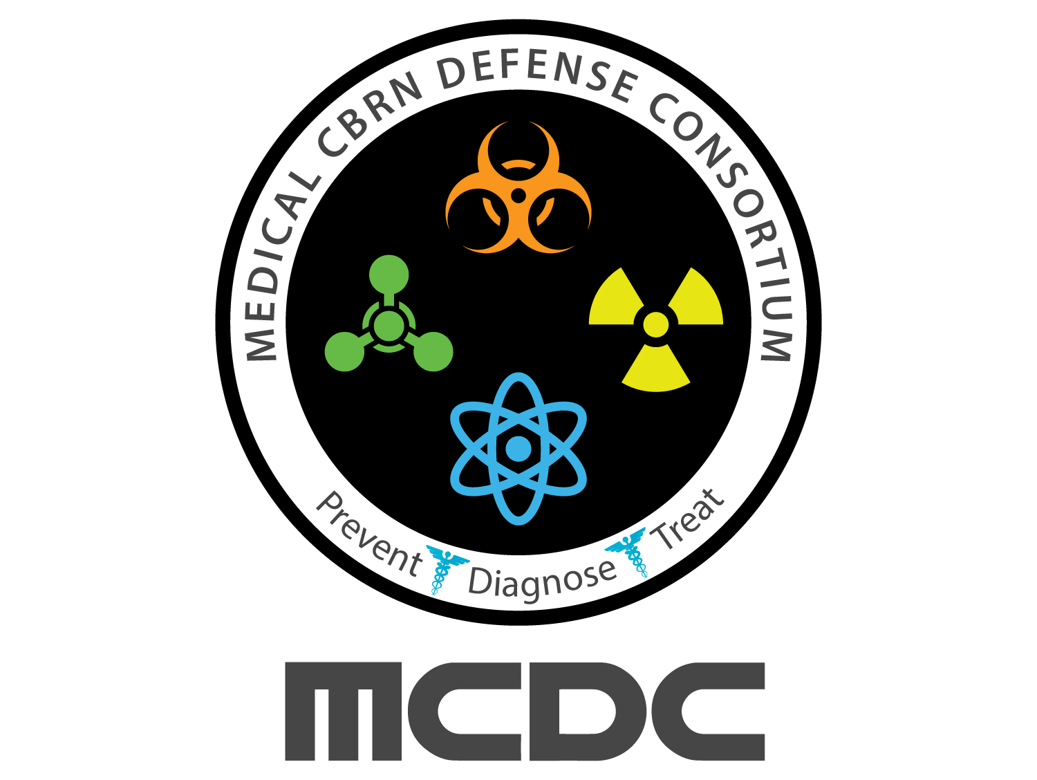 Medical CBRN defense consortium logo