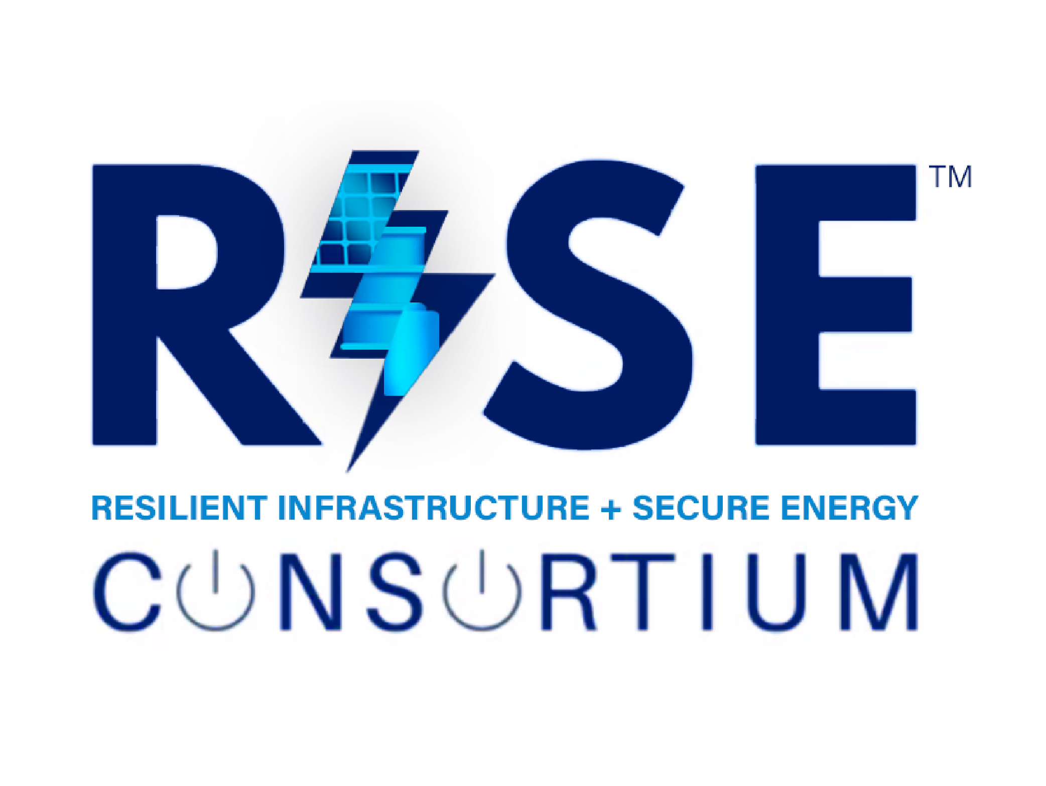 Resilient Infrastructure + Secure Energy (RISE) Consortium™ Logo